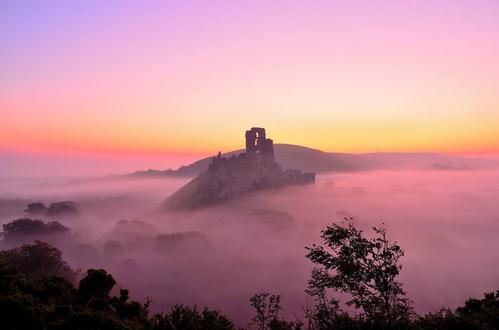 National Trust, Corfe Castle, Dorset