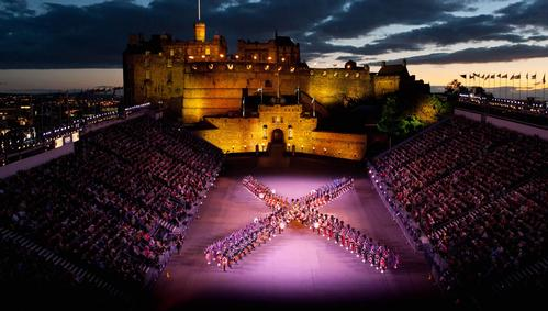 Historic Scotland, The Royal Edinburgh Military Tattoo at Edinburgh Castle